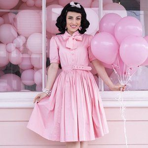 Sarsparilly Pink Pastel Maria Dress